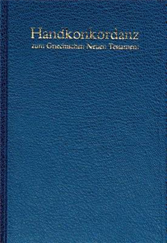 Pocket Concordance to the Greek New Testament