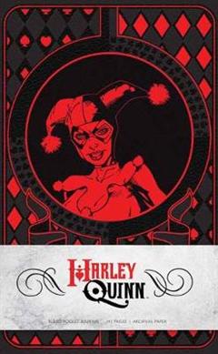 Harley Quinn Ruled Pocket Journal