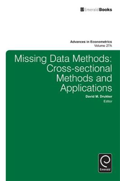 Missing Data Methods: Cross-Sectional Methods and Applications