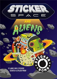 Sticker Space and Aliens