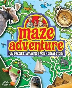 Maze Adventure: Fun Puzzles, Amazing Facts, Great Story
