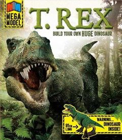 Mega Model: T. Rex: Build your own huge dinosaur