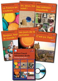 Brilliant French Information Books pack - Level 1