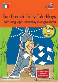 Fun French Fairy Tale Plays Book & CD