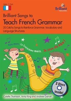 Brilliant Songs to Teach French Grammar Book & 2 CDs