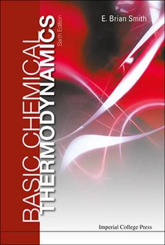 Basic Chemical Thermodynamics 6th Edition