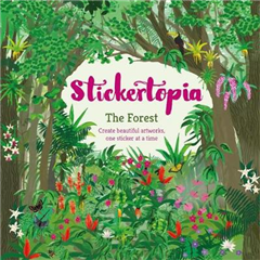 Stickertopia The Forest: Create beautiful artworks, one sticker at a time
