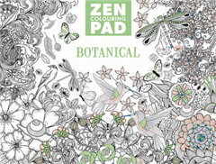 Zen Colouring Pad - Botanical