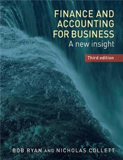 Finance and Accounting for Business: A New Insight,