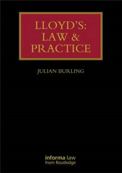 Lloyd\'s: Law and Practice