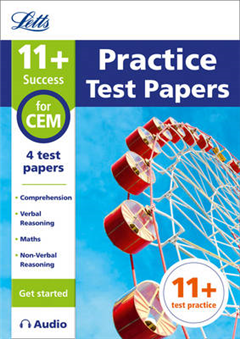 Letts 11+: 11+ Practice Test Papers (Get started) for the CEM tests inc