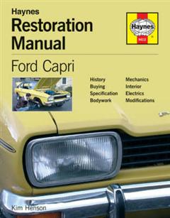 Ford Capri Restoration Manual