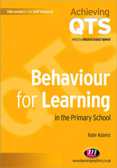 Behaviour for Learning in the Primary School