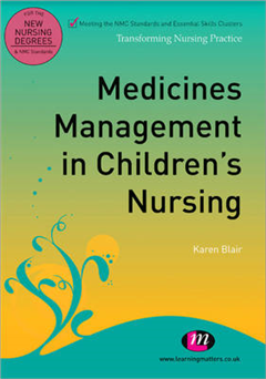 Medicines Management in Children's Nursing