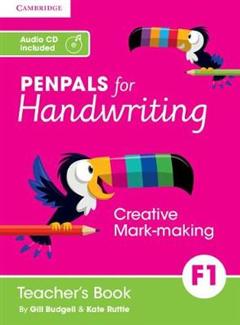 Penpals for Handwriting: Penpals for Handwriting Foundation 1 Teacher\'s Book with Audio CD