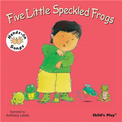 Five Little Speckled Frogs: BSL (British Sign Language)