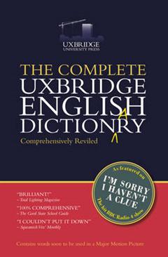 Complete Uxbridge English Dictionary