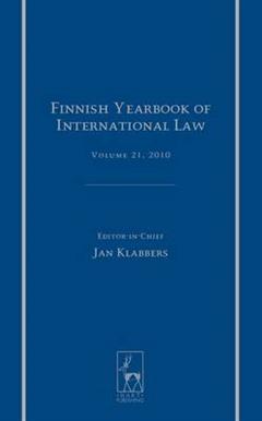 Finnish Yearbook of International Law, Volume 21, 2010
