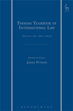 Finnish Yearbook of International Law, Volume 23, 2012-2013
