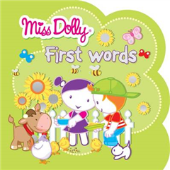 First Words: Colour to Copy, Stickers, Shaped Book
