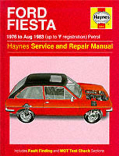 Ford Fiesta 1976-83 Service and Repair Manual