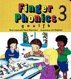 Finger Phonics Book3: g, o, u, l, f, b