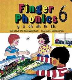 Finger Phonics Book 6: y, x, ch, sh, th, th