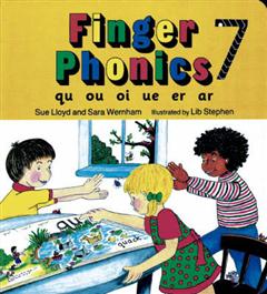 Finger Phonics Book 7: qu, ou, oi, ue, er, ar