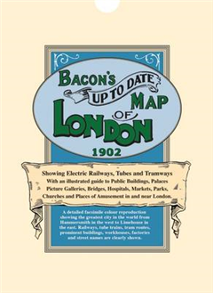 Bacon\'s Up-to-Date Map of London 1902