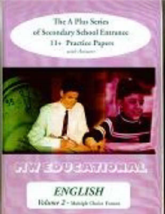 English  (Multiple Choice Format): The A Plus Series of Secondary School Entrance 11+ Practice Papers (with Answers): v. 2