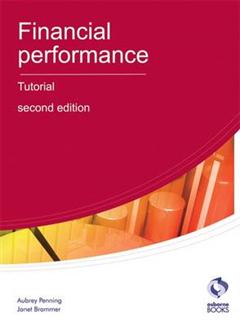 Financial Performance Tutorial