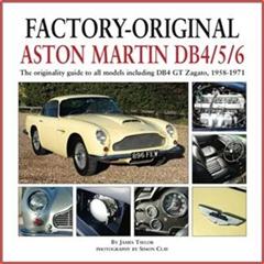 Factory-Original Aston Martin Db4/5/6