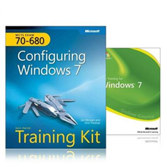 MCTS Self-paced Training Kit and Online Course Bundle (exam 70-680): Configuring Windows 7