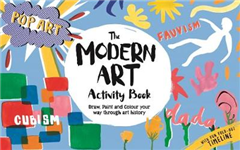 Modern Art Activity Book