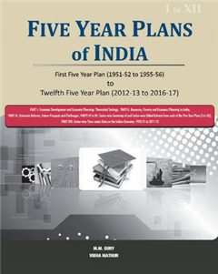 Five Year Plans of India -- 3 Volume Set