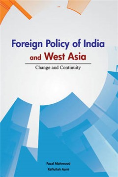 Foreign Policy of India & West Asia
