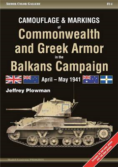 Camouflage and Markings of Commonwealth and Greek Armor in t