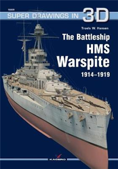 Battleship HMS Warspite 1914-1919