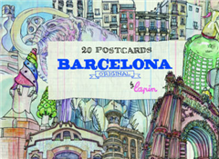 Barcelona - Original: 20 Postcards