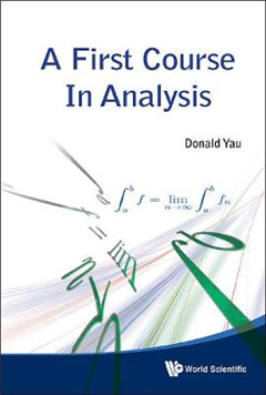 First Course In Analysis, A