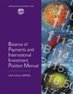 Balance of Payments Manual, Sixth Edition