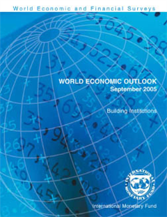 World Economic Outlook, September 2005: Building Institutions