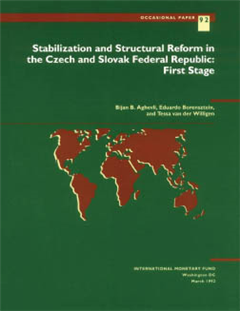 Stabilization and Structural Reform in the Czech and Slovak Federal Republic: First Stage