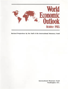 World Economic Outlook, October 1985