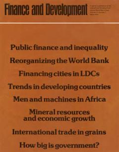 Finance & Development, March 1974