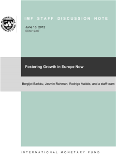 Fostering Growth in Europe Now