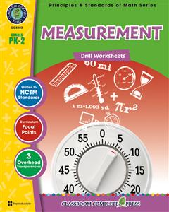 Measurement - Drill Sheets Gr. PK-2