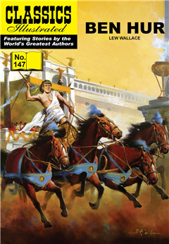 Ben Hur (with panel zoom) 			 - Classics Illustrated