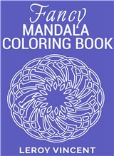 Fancy Mandala Coloring Book