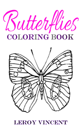 Butterflies Coloring Book